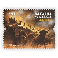 Portugal ** & 440 Years Of Salga Battle, Terceira Island, Azores 1581-2021 (77763) - Unused Stamps