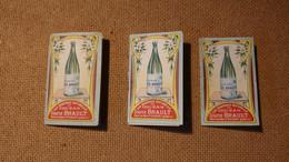 Lot De 3 échantillons Publicitaires (Pharmacie) Offert Par La Société Couzan Source Brault Sail-s/-Couzan (art-nouveau) - Andere