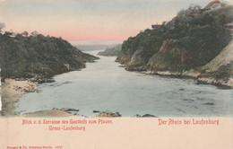 Allemagne - Gruss - Der Rhein Bei LAUFENBURG - Blick Terrasse Des Gasthofs Zum Pfauen  - Non écrite - Other