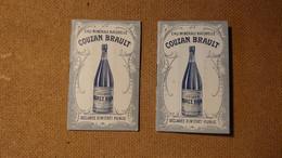 Lot De 2 Carnets De Papier D'Arménie Publicitaires De La Société Générale Des Eaux Minérales De Couzan Source Brault - Andere