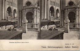 93 Tombes Royales à Saint-Denis - Vues Stéréoscopiques Julien Damoy Série N° 18 - Saint Denis