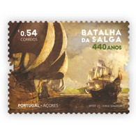 Portugal ** & 440 Years Of Salga Battle, Terceira Island, Azores 1581-2021 (77762) - Unused Stamps