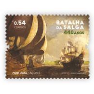 Portugal ** & 440 Years Of Salga Battle, Terceira Island, Azores 1581-2021 (77762) - Other (Sea)