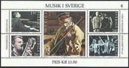 Zweden 1983 Blok Muziek PF-MNH - Ongebruikt
