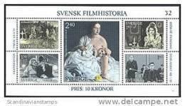 Zweden 1981 Blok Filmhistorie PF-MNH - Ongebruikt