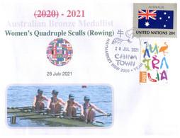 (VV 21 A) 2020 Tokyo Summer Olympic Games - Bronze Medal - 28-7-2021 - Women's Quadruple Sculls (Rowing) - Zomer 2020: Tokio