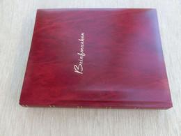 Briefmarken Album Gebraucht Mit 60 Weißen Seiten, 9 Streifen, Format Ca 23,5 X 30,5cm - Binders Only