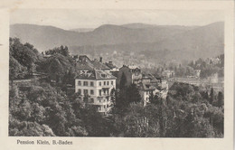 Allemagne - Pension Klein - BADEN BADEN - Baden-Baden