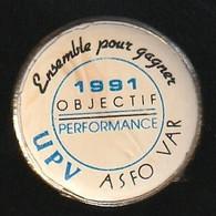 72155-Pin's.'ASFO Var.Union Patronale Du Var - Administrations