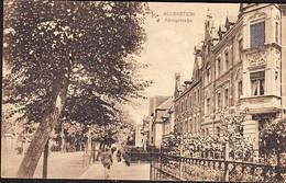 Germany  ALLENSTEIN Now Olsztyn Poland Postcard Koenigstrasse Used In 1917 To Leipzig - Poland