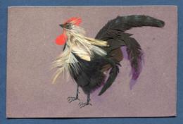 ⭐ France - Carte Postale - Coq - Union Postale Universelle - Plume ⭐ - Geklede Dieren