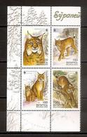 BELARUS 2000●WWF Lynx●●Luchs●Mi 373-76 MNH - Bielorrusia