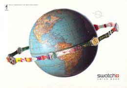 USA Postcard 1996 Atlanta Olympic Games - Swatch Official Timekeepers - Mint (G135-44) - Verano 1996: Atlanta