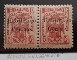Guinea N259A** Sin ( Acento En Lugar De Punto En La I - Guinea Española