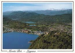 1 AK Schweiz * Blick Vom Monte Brè (925 M) Auf Lugano - Luftbildaufnahme * - TI Tessin