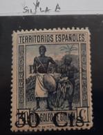 Guinea N251hzb * Con  ( Habilitado Sin A  Raro - Guinea Española
