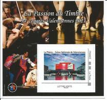 Bloc La Passion Du Timbre Valenciennes  2021 - Collectors