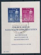 WEIMAR   -  12.4.55 ,  Befreiung Vom Faschismus   -   Michel Block 11 - Blokken