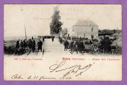 Belgique  Arlon Toernich Le Repos Des Chasseurs  Soldats  1904 - Edition Duparque - - Province Luxembourg - - Arlon