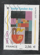 FRANCE 2021 SOPHIE TAEUBER - ARP  OBLITERE (note) - Used Stamps
