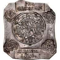 Monnaie, Etats Allemands, Karl Alexander, Notklippe 1 Gulden 4 Kreuzer, 1713 - Sonstige