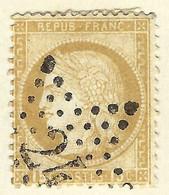 """FRANCE Classique: Le Y&T 55, Obl. De Paris étoile """"24"""" - 1871-1875 Ceres"""