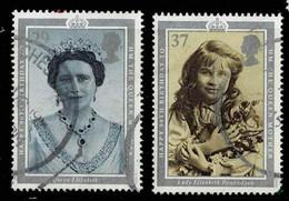 GB 1990,Michel# 1276 + 1278 O 90. Geburtstag Der Queen - Used Stamps