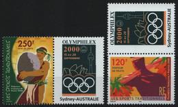 Franz. Polynesien 2000 - Mi-Nr. 826-827 Zf ** - MNH - Traditionelle Sportarten - Nuevos