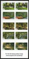 Australien 2009 - Mi-Nr. 3235-3239 ** - MNH - Markenheft 424 - Parks & Gärten - Ongebruikt