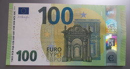 AUSTRIA : 100 Euro 2019 Draghi Letter NA UNC Print Code N004 F3 - 100 Euro