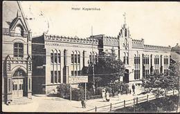Germany Postcard Hotel Kopernikus Sent From ALLENSTEIN Now Olsztyn Poland In 1913 To Zeitz - Polonia