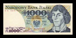 Polonia Poland 1000 Zlotych 1982 Pick 146c SC UNC - Polonia