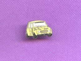 RARE  PINS PIN'S AUTO VOITURE RENAULT 4 L DIAC ELF   ZAMAC      M235 - Renault