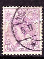 Niederlande Netherlands Pays-Bas - Königin Wilhelmina (MiNr: 93) Bzw. (NVPH 59) 1919 - Gest Used Obl - Used Stamps