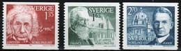 Sweden Set Of Stamps From 1981 To Celebrate Nobel Prize Winner Of 1921. - Ongebruikt