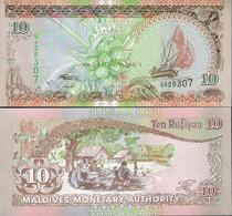 Maldives 2006 - 10 Rufiyaa - Pick 19c UNC - Maldives