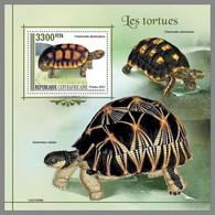 CENTRALAFRICA 2021 MNH Turtles Schildkröten Tortues S/S - OFFICIAL ISSUE - DHQ2131 - Schildkröten