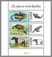 GUINEA REP. 2021 MNH Kakapo Parrot Papagei Perroquet Endangered Species M/S - OFFICIAL ISSUE - DHQ2131 - Papageien