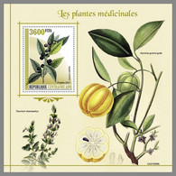 CENTRALAFRICA 2021 MNH Medical Plants Heilpflanzen Plantes Medicinales S/S - IMPERFORATED - DHQ2131 - Heilpflanzen