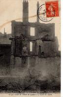 62 Pas De Calais Berck Plage CPA Incendie 1907 Hotel De Londre Ruine Histoire Patrimoine Destruction Quemehen Crotoy - Berck