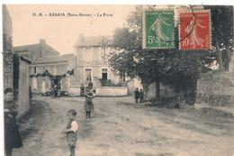 Cpa 79 Assais La Poste - Sonstige Gemeinden