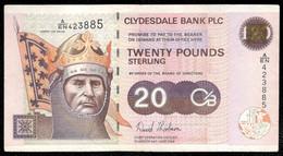 Scotland - 20 Pounds 2006 - Clydesdale Bank - Pick 229H - 20 Pounds
