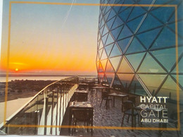 Hyatt Capital Gate, Abu Dhabi - Verenigde Arabische Emiraten