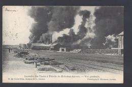 Hoboken-Anvers - Incendie Des Tanks à Pétrole - Vue Générale - Postkaart - Antwerpen