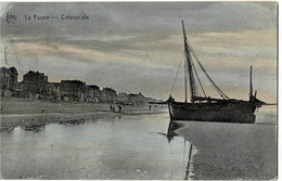 La Panne Crépuscule Circulée En 1921 - De Panne