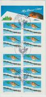 France 2004 Carnet Voeux BC 3622 Ou BC 37 Oblitéré D'époque - Commemoratives
