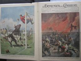 # DOMENICA DEL CORRIERE N 36 / 1934 SCOPPIO A CAMPANA (ARGENTINA( / PARTITA DI CALCIO A SIDNEY - Prime Edizioni