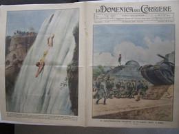 # DOMENICA DEL CORRIERE N 37 / 1934  CAMPO DUX / G.P. MONZA / CADUTI FIUMANI / CITTA' GIAPPONESI - Prime Edizioni