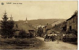 Laforêt Entrée Du Village Circulée En 1934 - Vresse-sur-Semois