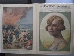 # DOMENICA DEL CORRIERE N 38 / 1934 PRINCIPESSA MARIA DI PIEMONTE / SUL BREITHORN 1*LEGIONE SABAUDIA - Prime Edizioni